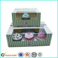 Custom Cheap Cupcake Boxes Window Pacakging