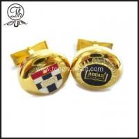 China Unique gold Flag cufflinks wholesale