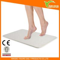 China New Tide Anti Slip Diatomite Instant Drying Bath Mat wholesale