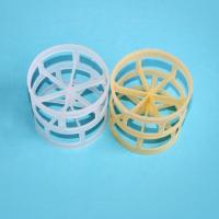 China 38mm/50mm PE/PVC Plastic Pall Ring Packed Columns wholesale