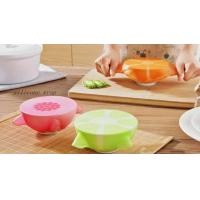 China Best Collapsible 3 Compartment Silicone Bento Lunch Box Food Container For Kids And Adults wholesale
