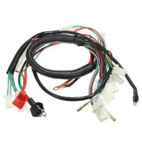 China Original Car Alarm Headlight Wire Harness For Motorcycles With Relay Fuse wholesale