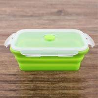 China Factory direct manufactured food grade silicone lunch box/fast food box wholesale