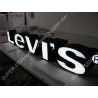 Buy cheap Frontlit LED sign letter 01 from wholesalers