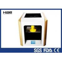 Buy cheap Yellow 0.1 ~ 0.4 Mm Accuracy Industrial Grade 3D Printer For ABS Filaments from wholesalers
