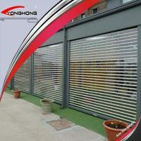 Buy cheap New Design Commercial Window Transparent Roll Up/rolling/roller Shutter Doors from wholesalers