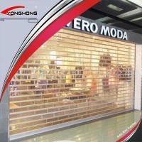 Buy cheap Electric Remote Transparent Roller Shutter Doors from wholesalers