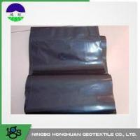 China 0.05mm Waterproof HDPE Geotextile Liner / Geomembrane Liner Black For Mining Liners wholesale