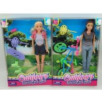 China 11.5 inch fashion doll with sport accessories wholesale