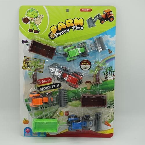 Quality Toy Farm Tractors Play Set for sale