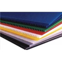 China Colourful Twin Wall Corrugated PP Sheet on sale