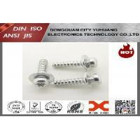 China Combination screw pozidriv pan head with big washer wholesale