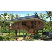 Buy cheap Waterproof Home Beach Bungalows Wooden Look House Moistureproof from wholesalers