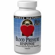 Blood Pressure Response, 150 Tablets, Source Naturals
