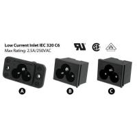 China AC Receptacles IEC 320 Power Inlets wholesale