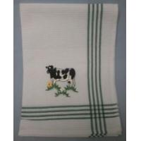 China Embroidered Cow Tea Towel wholesale