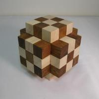 China Muscle Cube Two Tone Puzzle wholesale