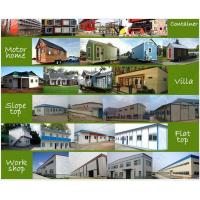 China Metal Container House Buildings With Sandwich Panel And Steel Frame wholesale