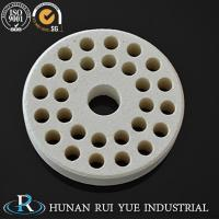 China Cordierite refractory ceramic insulator heater bobbin/ Rui Yue on sale
