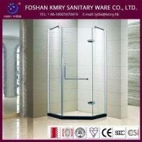 China Semi Frameless Neo-Angle Walk in Shower Enclosure with Chrome Hardware (KK3001) on sale