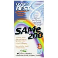 China Doctor's Best Sam-e 200 mg, 60-Count on sale