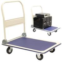 China Product: warehouse stainless steel platform trolley on sale