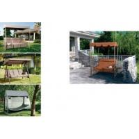 Buy cheap Swing Chair 3 person porch swing with canopy from wholesalers