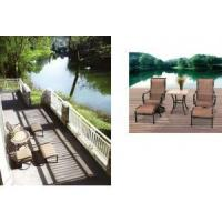 Buy cheap Patio Furniture Chaise Lounge Set from wholesalers
