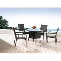 Buy cheap Outdoor Wicker 5 Piece Dining Set from wholesalers