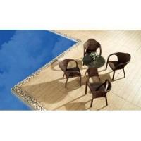 Buy cheap Outdoor Multibrown Wicker 5 Piece Dining Set from wholesalers