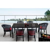 Buy cheap Rectangular Outdoor Patio Table from wholesalers