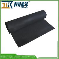 China Non-woven Activated Carbon Fiber Fabric In Roll wholesale