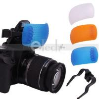 China 3 color Pop-Up Flash Diffuser Cover kit wholesale