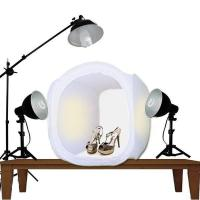China STUDIO PHOTO LIGHT TENT KIT WITH PHOTO LIGHTS, BOOM LIGHTING wholesale