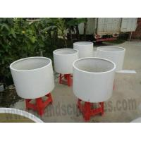 China Interior House Design Fiberglass Planters Sculptures wholesale