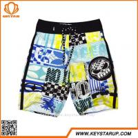 China Wholesale Mens Strong Stretch Coloful Loose Comfortable Swimming Boardshorts wholesale