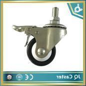 China 55mm Top Plate Swivel Caster Wheel Used for Sliver Can on sale