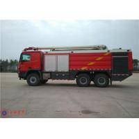 China 16 Forward Gears Fire Rescue Vehicles , HALE Pump 6000L/Min Airplane Fire Truck on sale