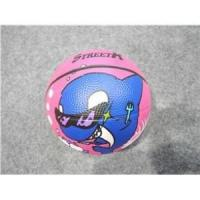 China Cartoon printing rubber ball MNB-008 wholesale