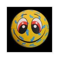 China Funny face rubber basketball MNB-001 wholesale