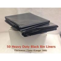 Black Heavy Duty Bin Liner
