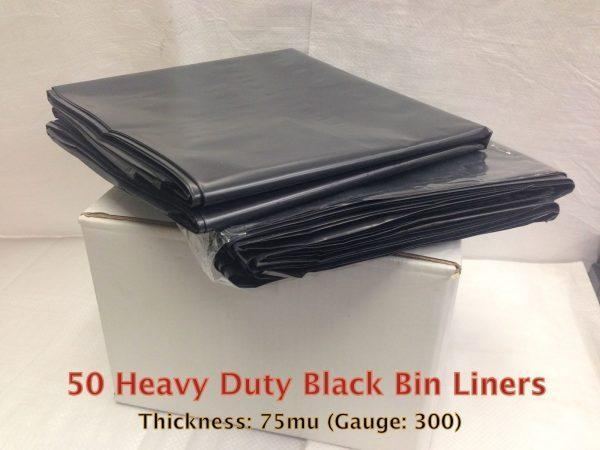 Quality Black Heavy Duty Bin Liner for sale