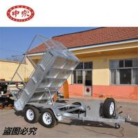 China Tipping Tandem Cage Trailer wholesale