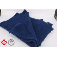 Buy cheap Dark blue fashion ladies knitting scarf. from wholesalers