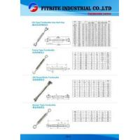 China Wholesale ISO9001 Standard US Type Sail Boat Stainless Steel Turnbuckle for Rigging on sale