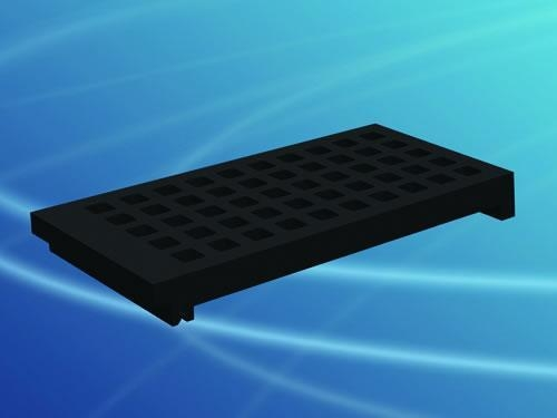 Quality Square Apertures Rubber Screen for sale