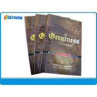 China Print Paperback Book with Embossing on Cover wholesale