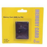 China Game accessories for SONY ps2 memory card 8MB wholesale