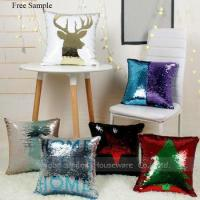 Mermaid Magic Sequin Reversible Pillow Cushion Pillow Cases