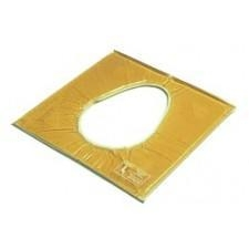 """Quality Action Commode Pad Closed 16 x 16 x 5/8"""" for sale"""